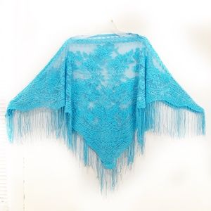 Sweaters - Vintage Women's pullover cape/poncho.